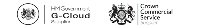HM Government G-Cloud and Crown Commercial Service supplier
